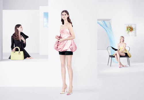 Raf Simons / Dior Spring 12 Campaign