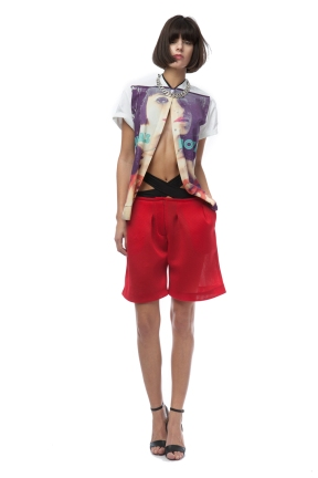 ZDDZ - Slash tee and shorts