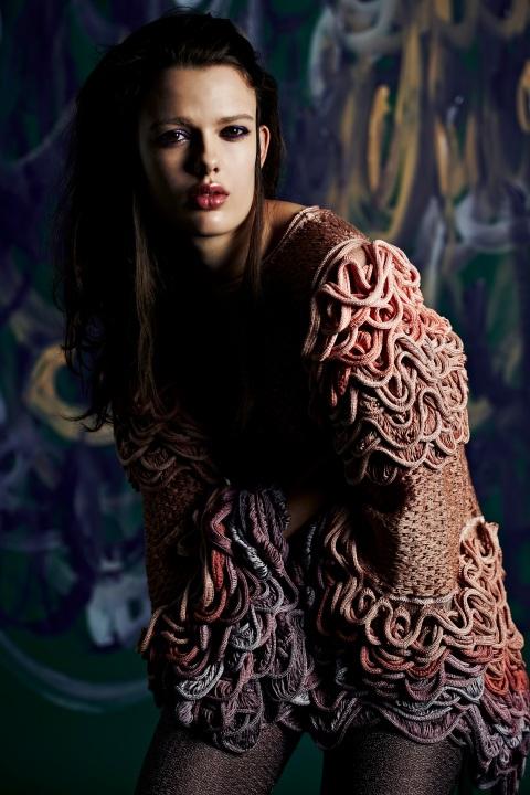 Sarah Mazza BA Knit LCF