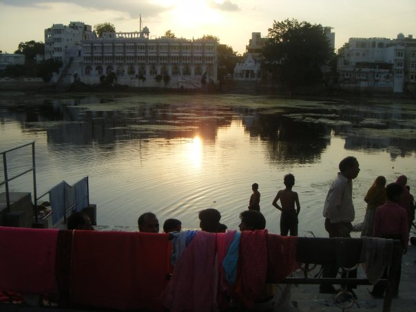 Udaipur India Lake