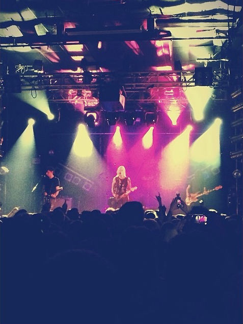 Brody Dalle performs at the Electric Ballroom, Camden