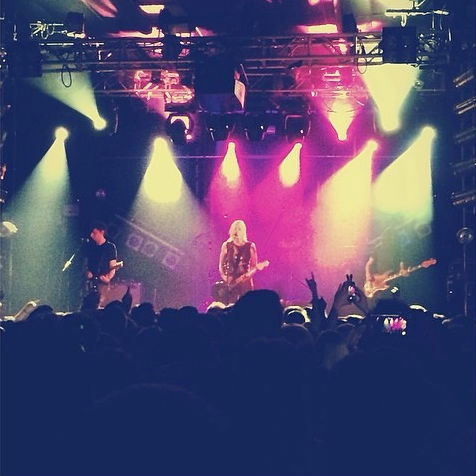 Brody Dalle performs at the Electric Ballroom, Camden 24 April 2014