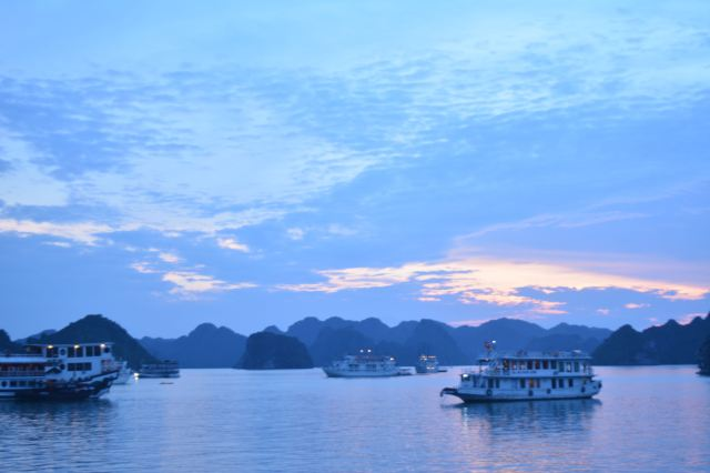 Sunset, Halong Bay, Vietnam